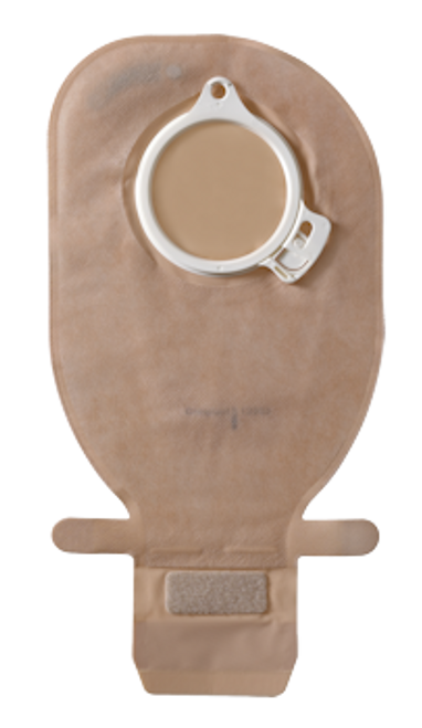 """Coloplast 13984 ASSURA OPAQUE Drainable Pouch with EASICLOSE, FLANGE SIZE 1 9/16"""" (40mm) BX/10 (COL-13984)"""