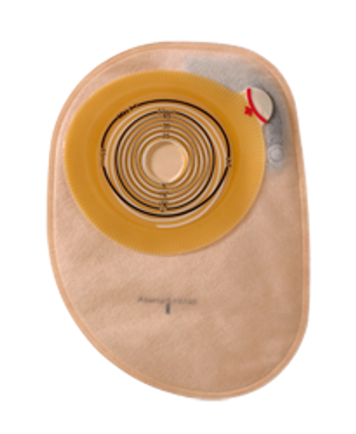 "Coloplast 14453 ASSURA 1-PIECE CONVEX LIGHT OPAQUE CLOSED Pouch, PRE-CUT 1 1/8"" (28mm) BX/10 (COL-14453)"