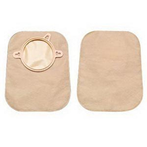 """NEW IMAGE MINI CLOSED Pouch W/O FILTER, 1 3/4"""" FLANGE BX/30 (HOL-18352) (Hollister 18352)"""