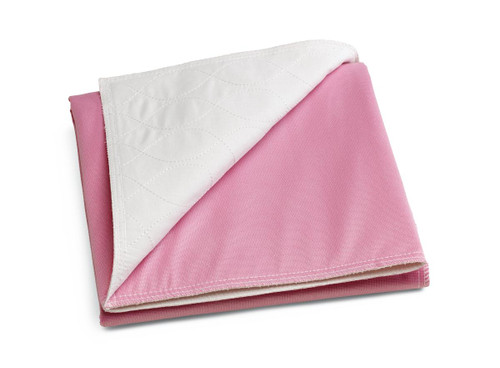 """Medline SOFNIT 300 REUSABLE CHAIR Underpad, 18"""" X 24"""", PINK"""