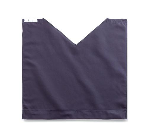 "Medline MDT014118NAVY Comfort Fit Dignity Napkin with Snap Closure, 27.5"" x 27"", Navy Blue"