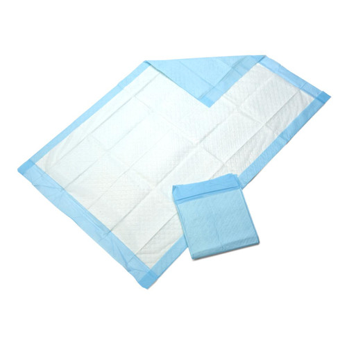 """Medline MSC281230 Protection Plus Disposable Underpads, Moderate Absorbency, 17"""" x 24"""", Blue (Pack of 300)"""