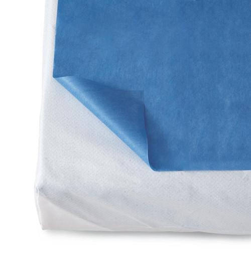 Medline NON33100 SHEET,DISP,SMS, DARK BLUE, 40X84, 50CS CS 50/CS