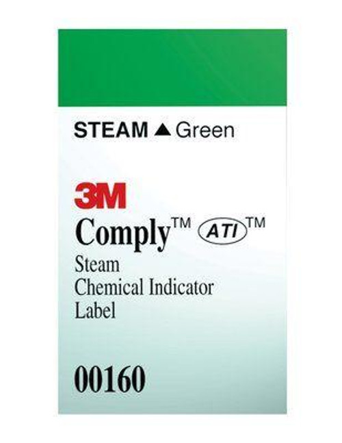 3M-160 LABEL STEAM CHEMICAL INDICATOR BX/1000