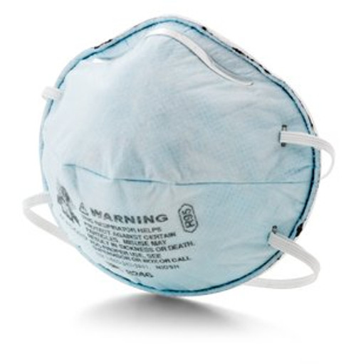3M-8246 MASK RESPIRATOR PARTICULATE R95 MOLDED CUP FOR NUISANCE LEVEL ACID GAS RELIEF BX/20