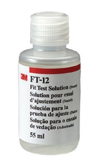 3M-FT-12 SOLUTION FIT TEST SWEET 55ML BX/1