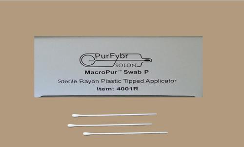 """AMD 1001D MACROPUR SWAB P 5.5"""" STERILE APPLICATOR (CS/10) BX/100"""