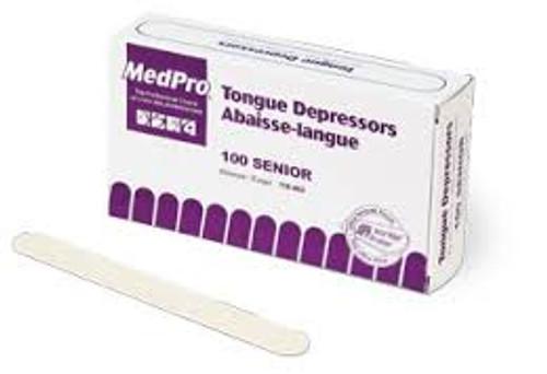 AMG Medpro 118-403 SENIOR TONGUE DEPRESSOR, WOOD