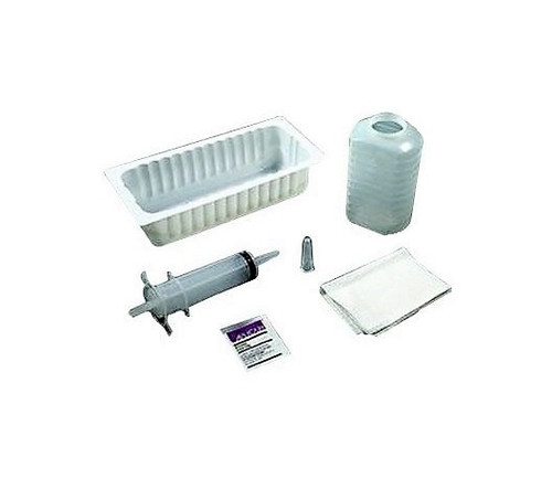 Amsino 130 60CC BULB IRRIGATION TRAY W/ 500CC GRADUATED CONTAINER, STERILE