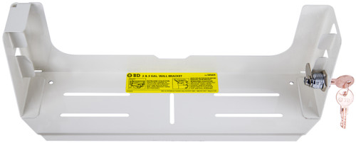BD-305409 WALL BRACKET FOR SHARPS CONTAINER - 2 OR 3 GALLON (CS/10) (BD-305409)