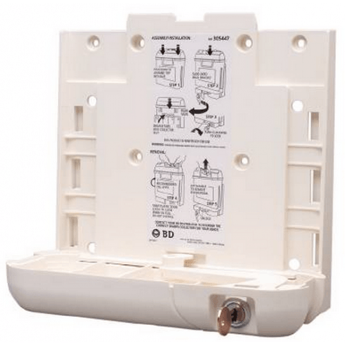 BD 305447 GUARDIAN WALL BRACKET FOR 5.4QT SHARPS CONTAINER