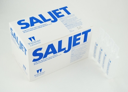 SOLUTION SALINE 0.9% NACL 30ml STERILE IRRIGATION POLY VIAL SALJET BX/40 (267-64938-009-01) (267-64938-009-01)