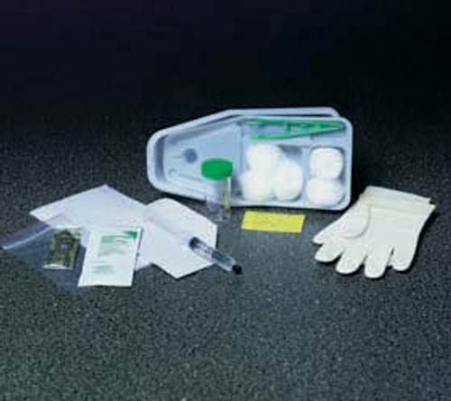 Bard 762415 BX/20 CATHETER TRAY 15FR RED RUBBER CATH, GLOVE, JELLY, DRAPE, UNDERPAD, FORCEP, SPECIMEN (Bard 762415)