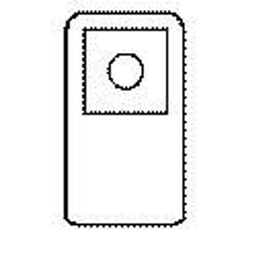 "Bard 960101 COLOSTOMY XTRA Pouch #1 5X8"" 1 PK/10 (Bard 960101)"