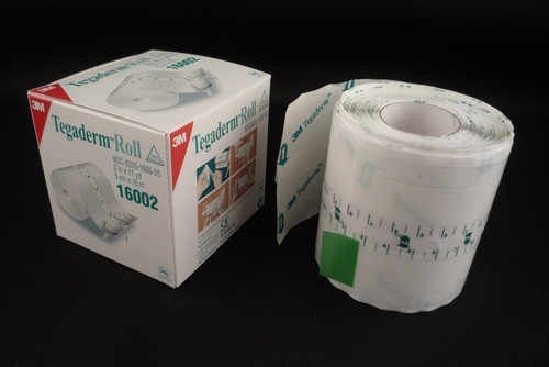 "3M Tegaderm Transparent Film Roll 2"" x 11yd 3M-16002"