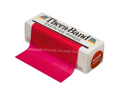 Thera-Band 20030 Exercise Resistance Band- 6 yrd Red/ Thin (TH-20030)