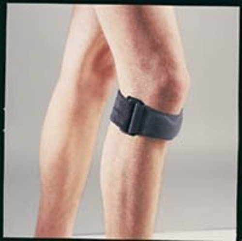 """BSN-37500040 SILVER LABEL GELBAND KNEE BAND, UNIVERSAL (11""""-18"""" ), BLACK"""