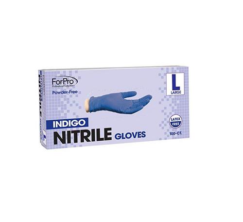Gloves Nitrile Powder Free Non-Sterile Violet Large 100/bx (1519)
