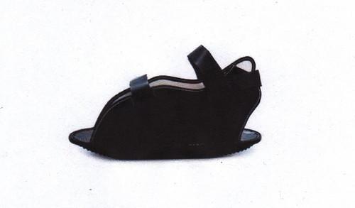 BSN-7444600 CANVAS CAST SHOE W/PLASTIC LOOPS PEDIATRIC, BLACK