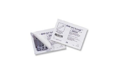 BD 305618 Luer-Lok General Use Disposable Syringe Convenience Tray, 30mL Capacity (Case of 120