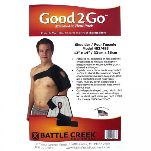 "Battle Creek 483 GOOD2GO SHOULDER 13"" X 14"" POLYBAG (Battle Creek 483)"