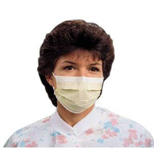 Kimberly-Clark 47117 BX/50 KIMBERLY CLARK PROCEDURE MASKS - YELLOW - (Kimberly Clark 47117)