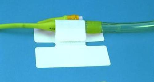"MCJ 54453 (BX/50) CATH-SECURE MULTI-PURPOSE TUBE HOLDER 2 3/4"" WRAP TAB, 3"" x 1 1/4"" W BASE (MCJ 54453)"