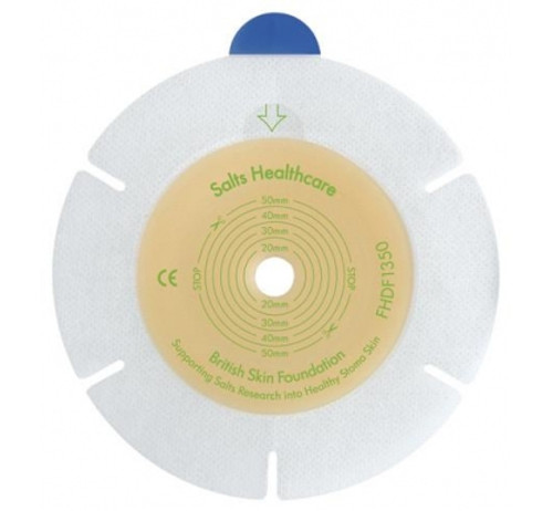 Salts FHDF1332 BX/10 Harmony Duo Flexible Flange with Flexifit and Aloe - Cut to fit 13-32mm (SALT FHDF1332)