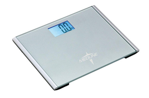 Medline MDR440FD DIGITAL STEP ON SCALE, 440 LBS WEIGHT CAPACITY