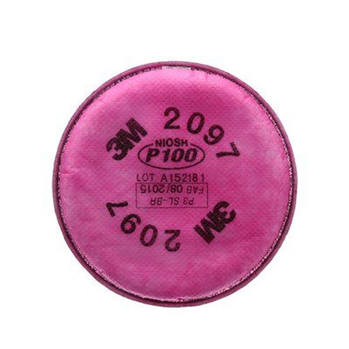 3M-7093 FILTER P100 FOR HALF FACEPIECE, Each