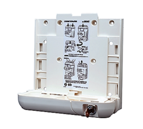 BD 305475 LOCKING BRACKET FOR BD 300450 AND 305469, 3.2 QT Sharps Container, Each