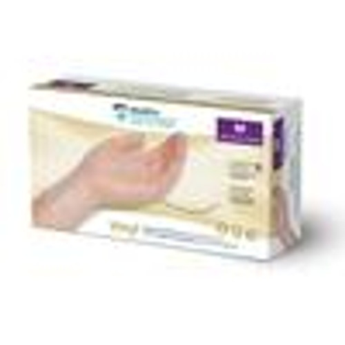 AMG 010-217 MEDPRO VINYL MEDIUM DEFENCE GLOVES,POWDER FREE, (CS/10) BX/100