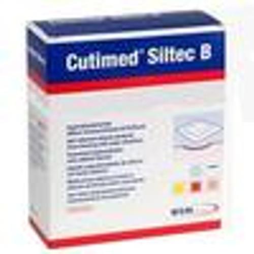 BSN 7328404 CUTIMED SILTEC B FOAM DRESSING W/SUPER ABSORBERS AND SILICONE LAYER, ADH BORDER, 22.5CM X 22.5CM BX/5 (BSN 7328404)