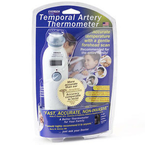 EXERGEN TAT-2000C TEMPORAL ARTERY THERMOMETER