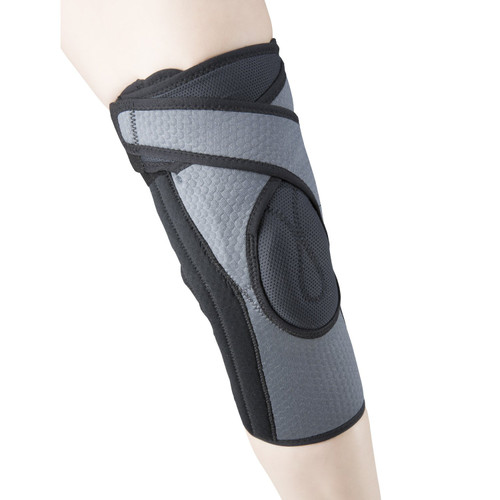 OTC 2550-S KNEE SUPPORT WITH PATELLA UPLIFT, GREY, SMALL, Each