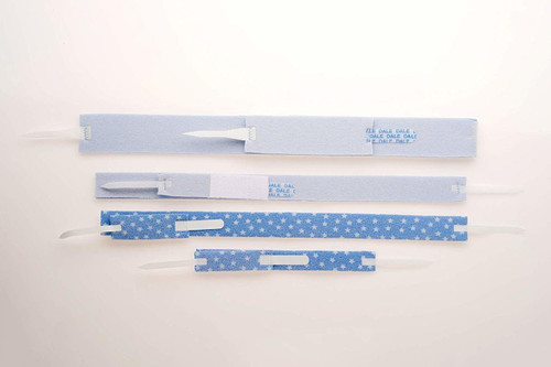 DAL 240A (BX10) DISPOSABLE TRACHEA TUBE HOLDER, SOLID BLUE (Dale Medical 240A)