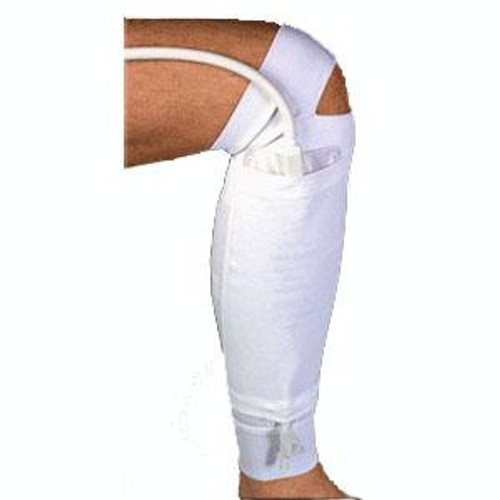 URINARY FABRIC LEG BAG HOLDER FOR LOWER LEG, SIZE SMALL