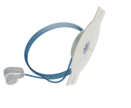 """YPSOMED 1881 YPSOPUMP ORBIT MICRO INFUSION SET, 8.5MM CANNULA, 45CM (18"""") TUBING 10/BX, BX"""