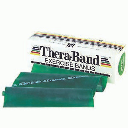 Thera-Band 20040 HEAVY EXERCISE BAND 6IN WIDTH, 6YDS, GREEN, LATEX , Each