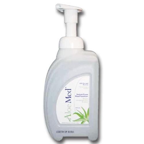ALOE MED ALM034 Foam Hand Sanitizer Pump top 32oz (950mL) CleanShape bottle 8/Case (ALOE MED ALM034)