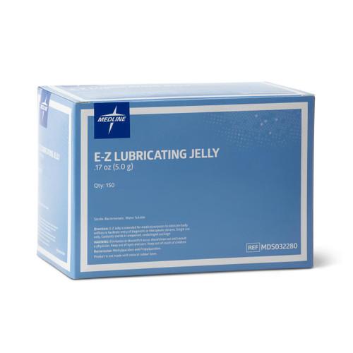 E-Z STERILE LUBRICATING JELLY, 5 GRAM FOIL PACKETS BX/150 (MDL MDS032280Z)