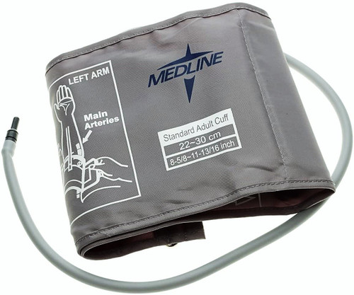 Medline MDS9972 BLOOD PRESSURE CUFF FOR MDS3001, ADULT, Large, Each