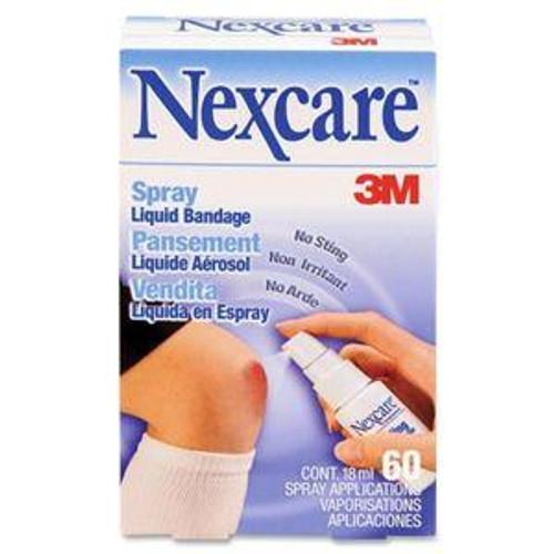 3M-118-03-CA NEXCARE Bandage LIQUID SPRAY 61OZ NO STING BX/1 (3M-118-03-CA) (3M-118-03-CA)