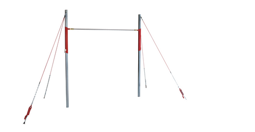 Training High Bar with short cable system and adjustable height!