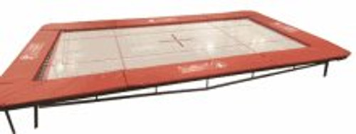 ELITE 7' x 14' Trampoline with 4mm Web Bed