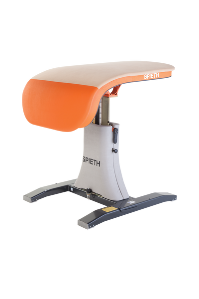 The Ergojet Vaulting Table by SPIETH Germany has a design that is ideal for Elite level clubs and competitions.Optional Base Padding available (5005-006-4 and 5005-006-8).FIG APPROVED ITEM NO: 1407210