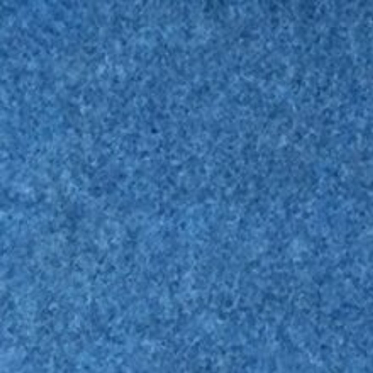 "6' x 42' x 2"" - Individual Carpet Roll - Blue"