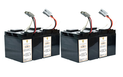 RBC11 Compatible Replacement Battery Set for SU3000NET Plug /& Play SU3000RM 1 Year Warranty by UPSBatteryCenter