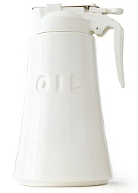 White Oil Dispenser 550ml