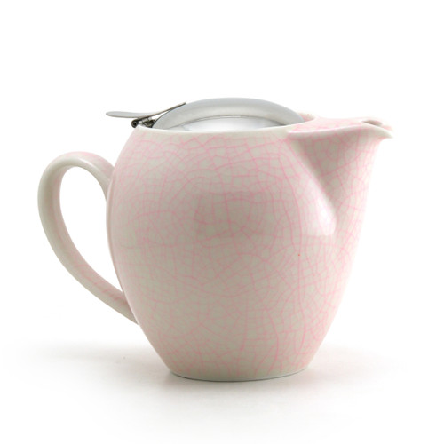 Pink Artisan Crackle Universal Teapot 580ml